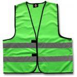 70142-BHV-Veiligheidshesje-Groen-Ploegleider-opschrift